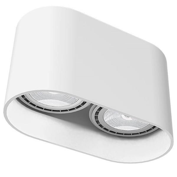 Lampa Sufitowa Oval White