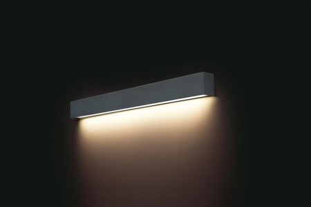 Kinkiet STRAIGHT WALL LED GRAPHITE M 92cm