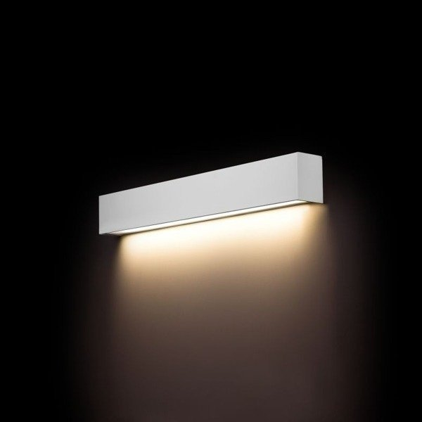 Kinkiet STRAIGHT WALL LED WHITE S 62cm