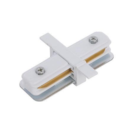 Łącznik PROFILE RECESSED straight connector white